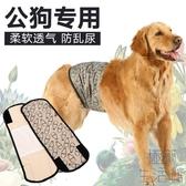 狗狗生理褲大型犬寵物防交配衛生褲公狗禮貌帶【極簡生活】