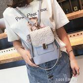 後背包 上新蕾絲包包女潮時尚背包學院風書包韓版百搭後背包 1995生活雜貨