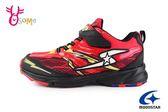 Moonstar 月星 競速慢跑鞋 男童 3E寬楦 運動鞋 H9695#紅色◆OSOME奧森童鞋