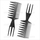 三面美髮挑梳-單支[21314] 挑染梳刷
