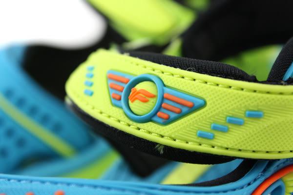 GP(Gold.Pigon) 涼鞋 藍綠色 中童 no727