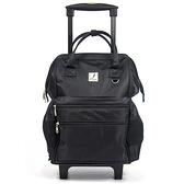 aaronation-FrGuoo拉桿後背包-CE-FRB568-拉桿黑色