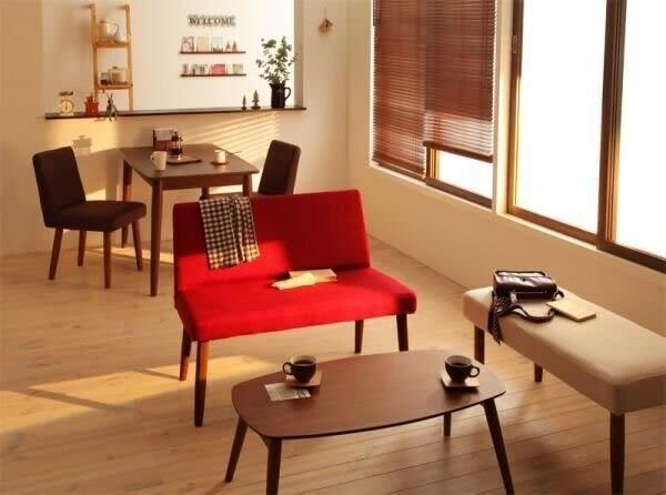 ☆歡樂寶貝商城☆日本熱銷 北歐簡約風 摩登設計水曲柳原木 可換椅套雙人沙發長椅