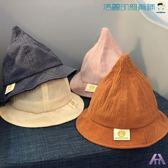 寶寶漁夫帽兒童巫師帽休閒帽子【洛麗的雜貨鋪】
