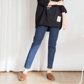 【衣大樂事】MIT童趣繡花牛仔長褲