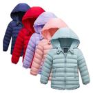 兒童外套 鋪棉連帽外套 輕薄型保暖外套 仿羽絨防風外套 LUCK1888 好娃娃