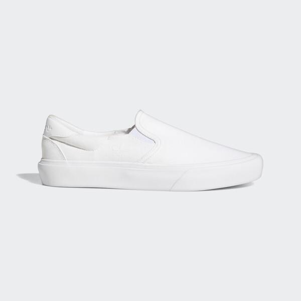 Adidas Court Rallye Slip [FY4550]男女鞋 運動休閒 愛迪達 輕便 簡約 穿搭 全白