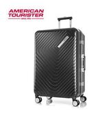 新秀麗 AT美國旅行者 ESQUINO PC鋁框 煞車輪 旅行箱/行李箱-24吋(黑) GN1
