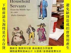二手書博民逛書店Costume罕見of Household Servants,