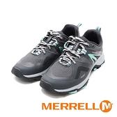 MERRELL (女)MQM FLEX 2 GORE-TEX郊山健行鞋 女鞋 -灰綠