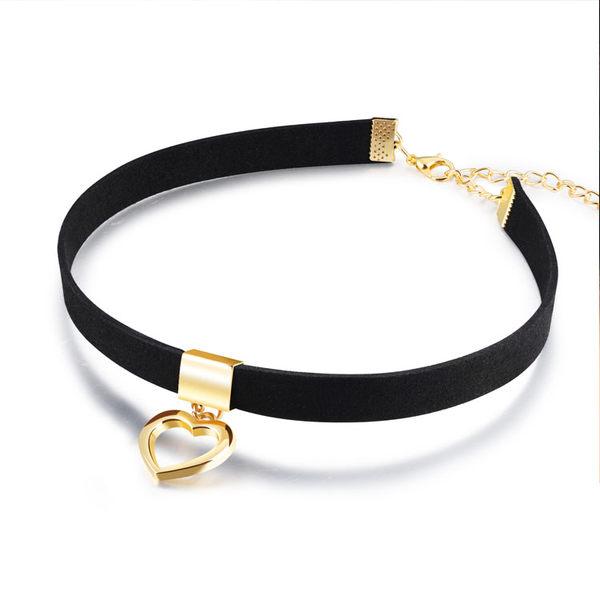 【5折超值價】最新潮流時尚精美愛心造型女款頸環項鍊