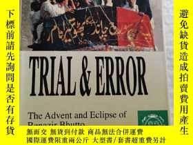 二手書博民逛書店英文原版書-----《TRIAL罕見and ERROR:The Advent and Eclipse of Ben