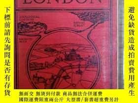 二手書博民逛書店Ward罕見lock&Cos Guide books:LONDO