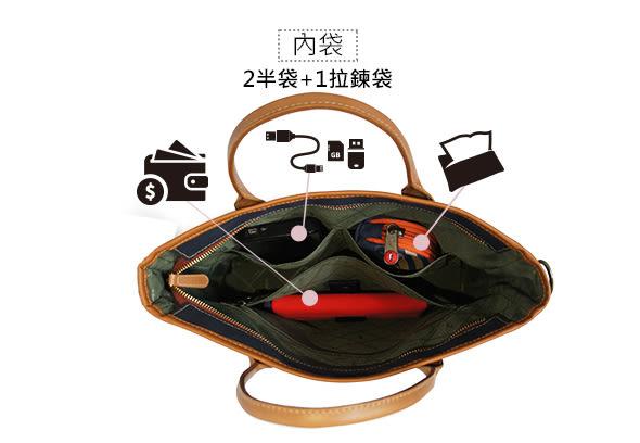 CORRE【AJJ002】復古帆布手提斜背包