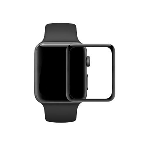 Apple Watch Series 鋼化膜 Watch1/2/3/4/5/6/SE 通用蘋果手錶滿版全屏3D曲面玻璃膜