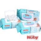 Nuby 食鹽水柔濕巾 80抽(一串3包) 麗翔親子館