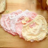 4條兒童內褲女1-3歲純棉嬰兒內褲女