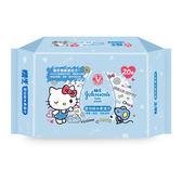 嬌生嬰兒護膚柔濕巾外出包20片【康是美】