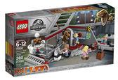 【LEGO樂高】 Jurassic Park Velociraptor Chase 重現廚房躱避速龍 #75932