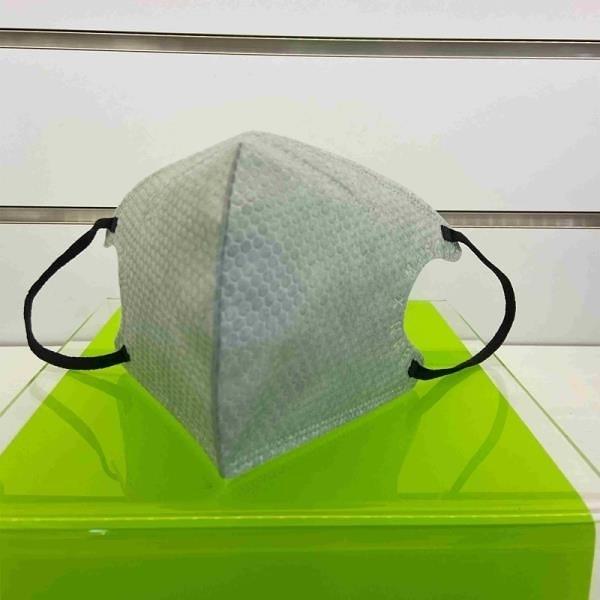 【南紡購物中心】灰色3D立體鼻壓條口罩 10入/袋x5袋(限量供應)