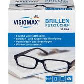 德國 VISIOMAX 拋棄式 防霧眼鏡布 清潔布 (52入)