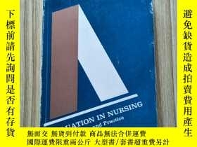 二手書博民逛書店EVALUATION罕見IN NURSING Principle