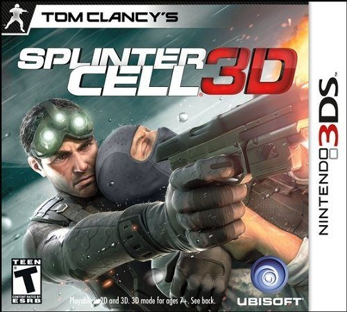 3DS Tom Clancy s Splinter Cell 3D 縱橫諜海 3D(美版代購)