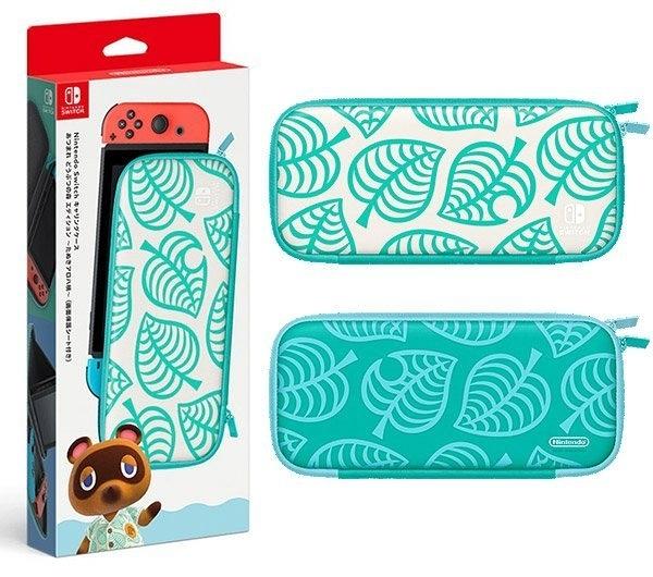 [哈GAME族]免運費 可刷卡 Nintendo Switch 集合啦!動物森友會 特仕便攜包(附螢幕保護貼)