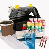 水粉顏料套裝美術用品水粉繪畫工具HLW 交換禮物