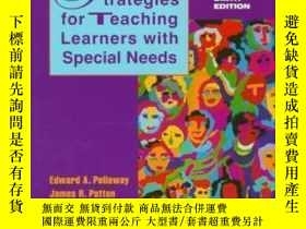 二手書博民逛書店Strategies罕見For Teaching Learners With Special Needs-特殊需要