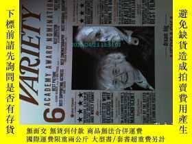 二手書博民逛書店VARIETY罕見(magazine)2014 01 22美國綜藝娛樂明星電影攝影藝術雜誌Y14610