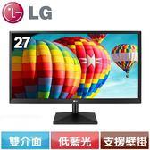 LG 27型 FHD 護眼低藍光AH-IPS電競螢幕  27MK430H-B【送7-11禮券200元】