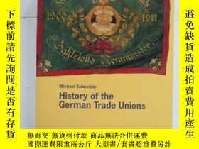 二手書博民逛書店History罕見of the German Trade Uni