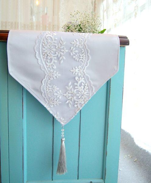 時尚可愛空間餐桌布 茶几布 隔熱墊 鍋墊 杯墊 餐桌巾桌旗573 (30*50cm)