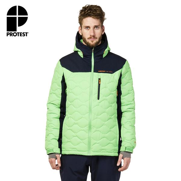 PROTEST 男 機能防水保暖外套 (蜥蜴綠) RANGE SNOWJACKET