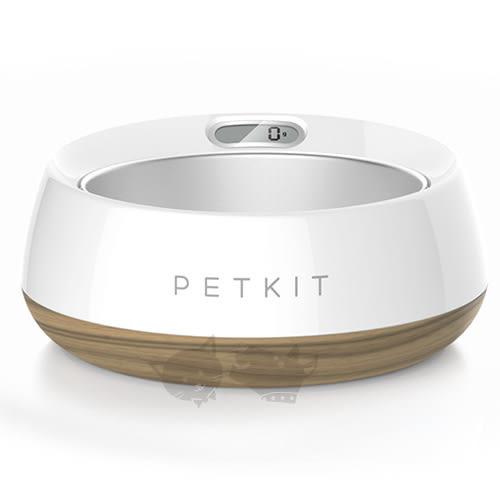[寵樂子]《PETKIT》佩奇寵物智能食碗 寵物碗(中大型犬用)木紋色