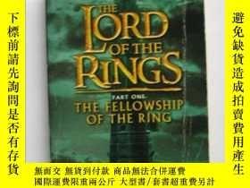 二手書博民逛書店The罕見lord of zhe rings PART ONE(