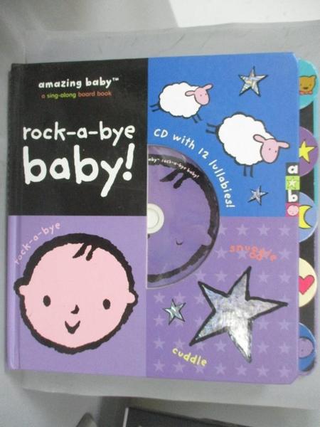 【書寶二手書T9/少年童書_EON】Amazing Baby: Rock-a-bye Baby!_Jolley, Mike (ILT)/ Dodd, Emma (ILT)
