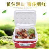 行動冰箱 保溫箱冷藏箱家用車載戶外冰箱外賣便攜保鮮釣魚大小號冰桶 igo 第六空間