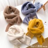 圍巾 毛毛領圍巾女冬季百搭韓版圍脖冬款洋氣時尚保暖護頸ins可愛少女 開春特惠
