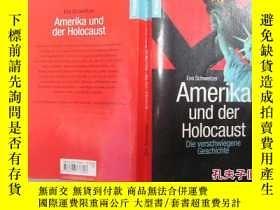 二手書博民逛書店德文原版......Amerika罕見der Holocaust