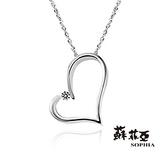 蘇菲亞SOPHIA - 甜心純銀項鍊