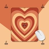 愛心疊加少女風卡通手工原創電腦游戲辦公桌面方形加厚滑鼠墊【愛物及屋】