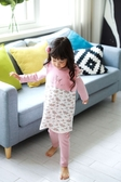 正韓貝貝龍 肩扣荷葉邊保暖睡眠馬甲 拼接鹿 | 小女童 | 服飾配件(小孩/兒童/嬰幼兒)