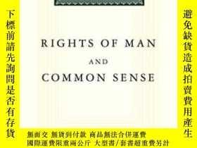 二手書博民逛書店Rights罕見Of Man And Common Sense (everyman s Library)Y25