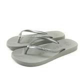 MALVADOS PLAYA 普拉雅系列 夾腳拖 人字拖 拖鞋 雨天 銀色 女鞋 1003-1737 no023