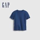 Gap男幼童 基本款素色短袖T恤 879022-藍色