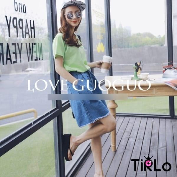 牛仔短褲 -Tirlo-舒適寬管鬚邊牛仔五分褲-兩色/S-XL(現+追加預計5-7工作天出貨)