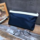 男士手包2018新款手提包手拿包時尚潮流韓版休閒手抓包男動物圖案·享家生活館