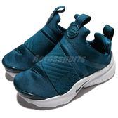 Nike 休閒慢跑鞋 Presto Extreme TD 藍 白 低筒 無鞋帶 襪套式 嬰兒 小童鞋 童鞋 Baby鞋【PUMP306】 870019-404